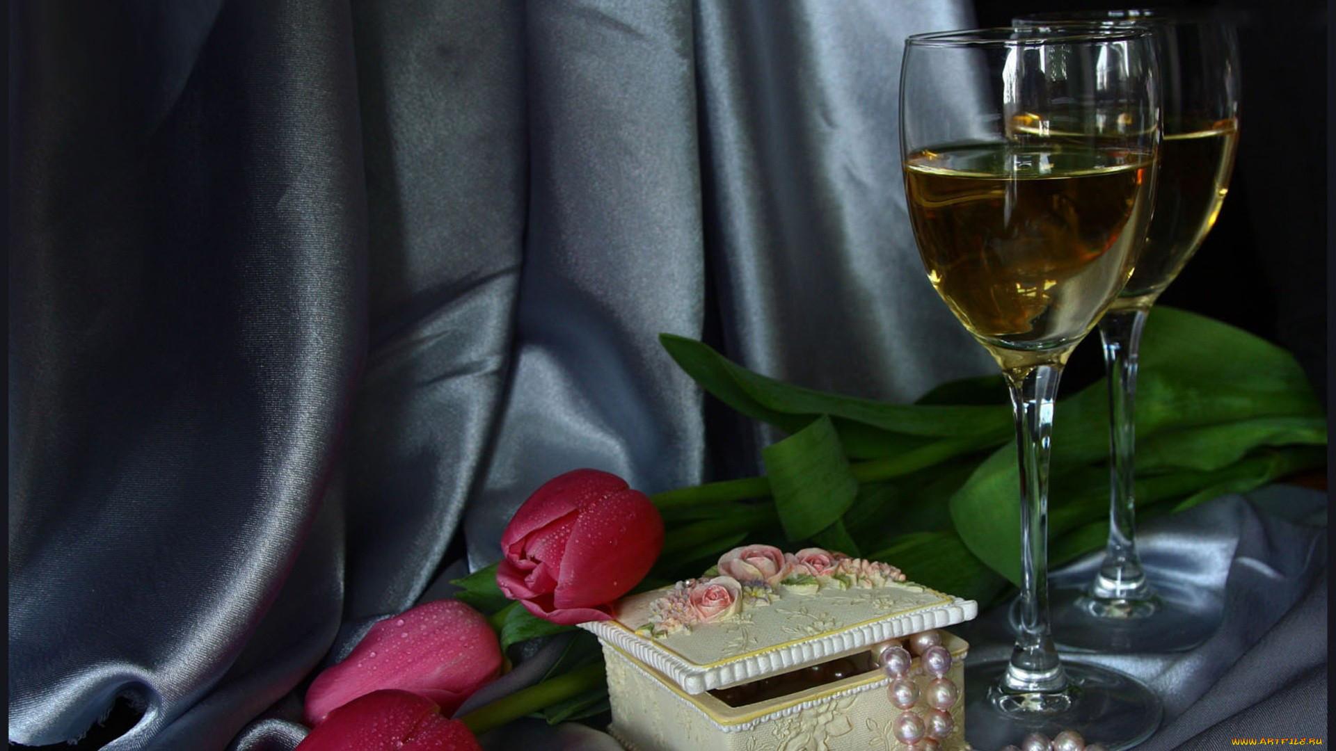 картинки с шампанским бокалами и розами вам